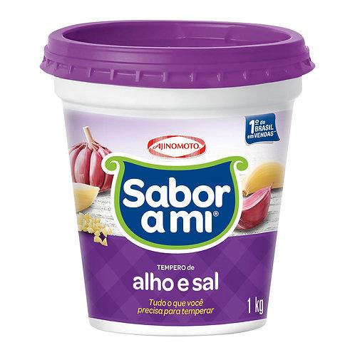Tempero Sabor Ami 1Kg Alho Sal