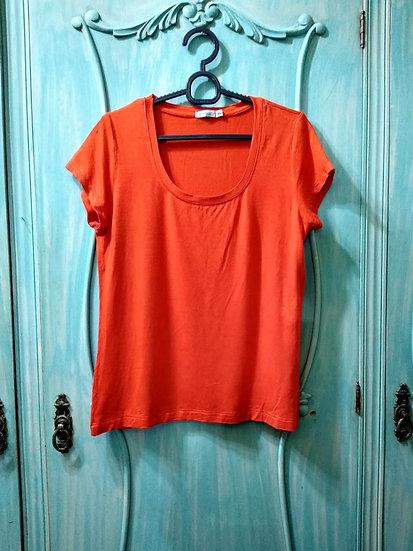 Camiseta laranja Rabusch - Tam P