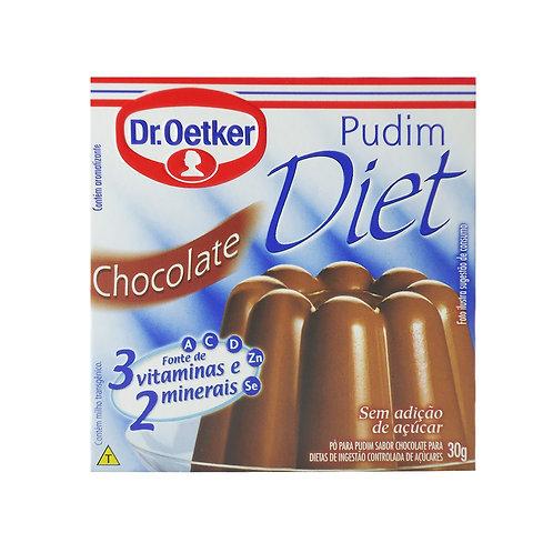 Pudim Oetker Diet 25g  Chocolate