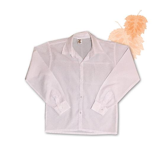 Camisa Branca Infantil - Tam 14