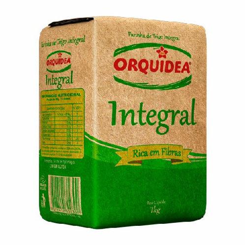Farinha Trigo Orquidea 1Kg Integral