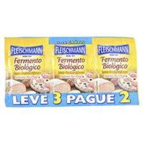 Fermento Fleischmann Lv3Pg2 10 Biológico