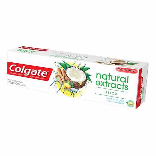 Gel Dental Colgate Natural Extracts 90g  Detox