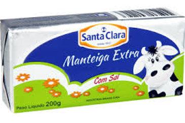 Manteiga Santa Clara 200g  C/Sal