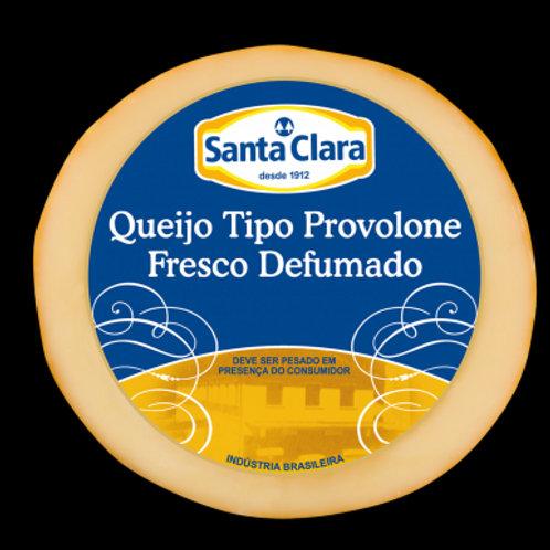 Queijo Santa Clara Kg Provolone Defumado