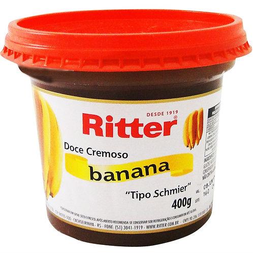 Doce de Fruta Ritter 400g  Banana