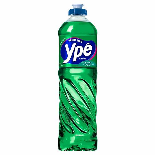 Detergente Líquido Ype 500ml  Limão