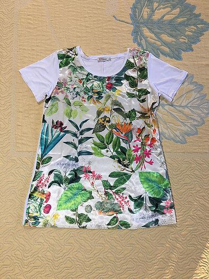 Camiseta tipo túnica - Tam M