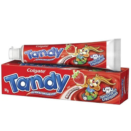 Creme Dental Tandy 50g  Morangostoso