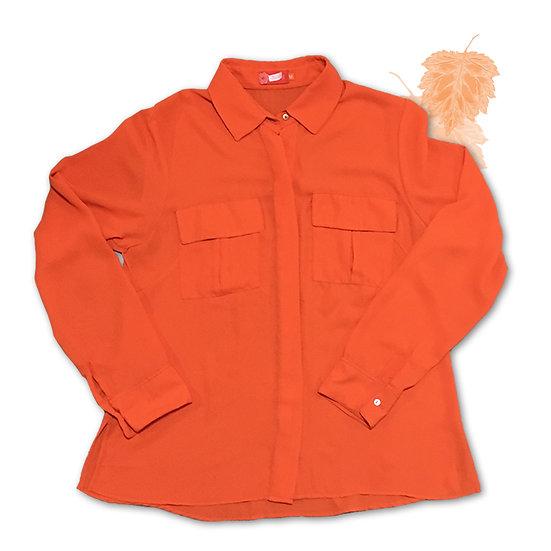 Camisa Laranja Coralia - Tam M