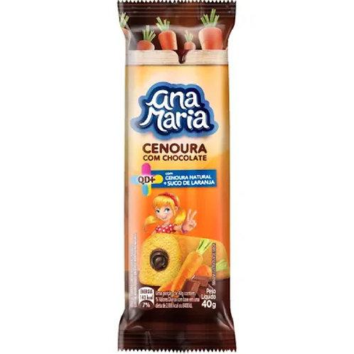 Bolo Ana Maria 35g  Cenoura Chocolate