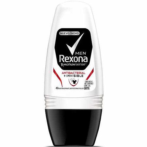 Desodorante Rolon Rexona 50ml  Antibac Inv