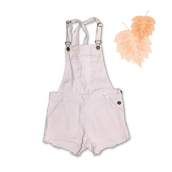 Macacão Jeans Infantil - Tam 14