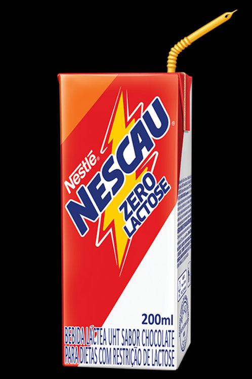 Achocholatado Líquido Nestle 200ml  Nescau Zero Lactose