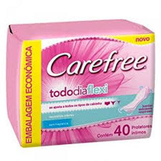 Protetor Carefree 40Un  Todo Dia Flexi S/Perfume