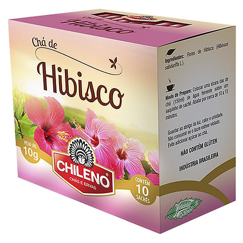 Chá Chileno 10g Hibisco