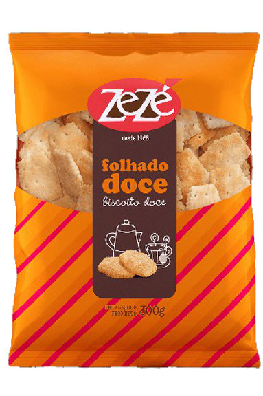 Biscoito Zezé 300g Folhado Doce