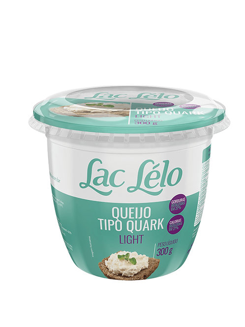 Queijo Quark Laclelo 300g  Light