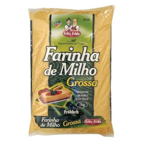 Farinha Milho Frida 1Kg  Grossa