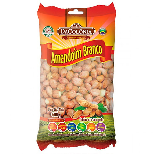 Amendoim Da Colonia 400g Branco