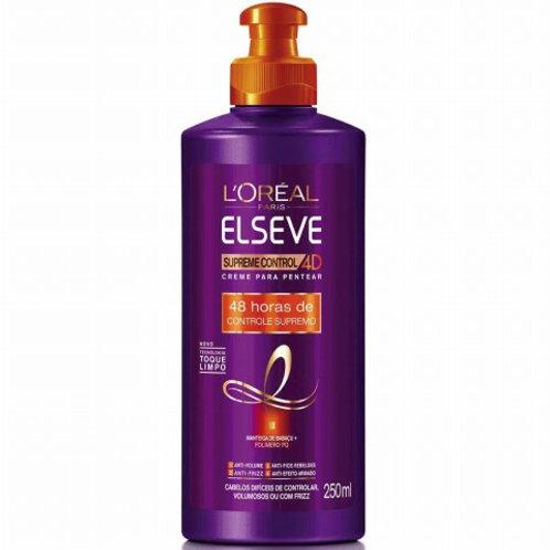 Creme Pentear Elseve 250ml  Supreme Control 4D