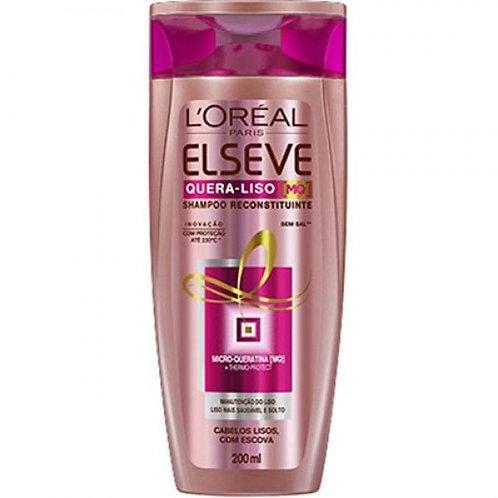 Shampoo Elseve  200ml  Quera Liso M Q