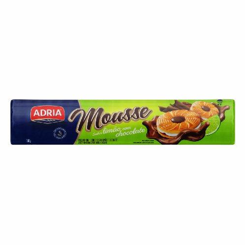 Biscoito Recheado Mousse 160g  Limão Chocolate
