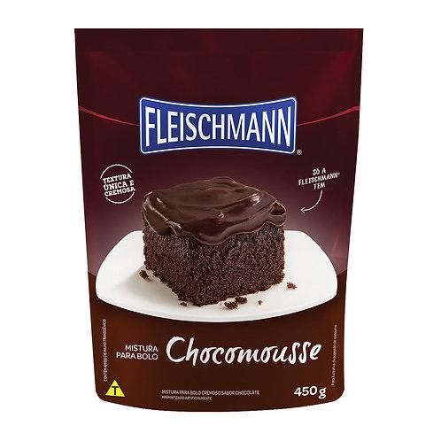 Mistura para Bolo Fleischmann 450g Chocomousse