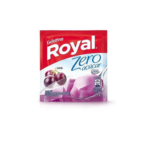 Gelatina Royal Zero 12g  Uva