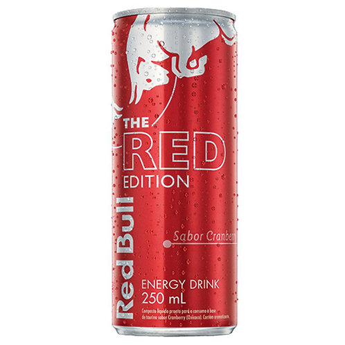 Energético Red Bull 250ml  Red Edition