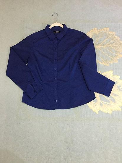 Camisa Marisa Azul Marinho - Tam 44