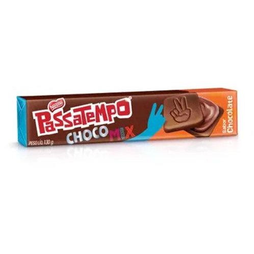 Biscoito Recheado Passatempo 130g  Chocomix