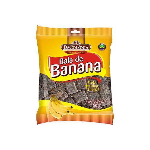 Bala de Banana Da Colonia 160g