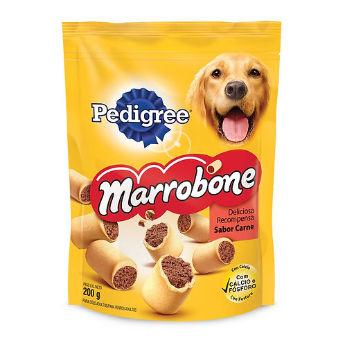 Bisc Caes Marrobone Pedigree 200g