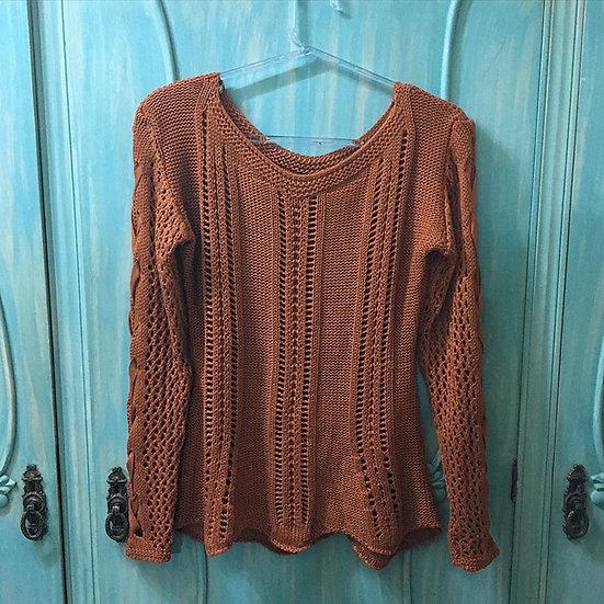 Blusão de tricô - Tam 40