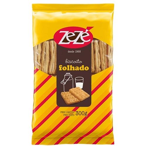 Biscoito Zezé 300g Folhado Salgado