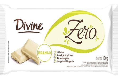 Chocolate Divine Zero 100g  Branco
