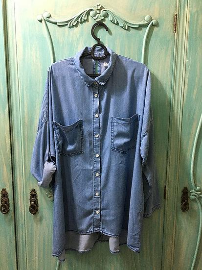 Camisa Jeans Bluesteel - Tam G