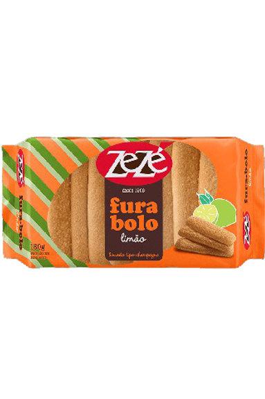 Biscoito Zezé 180g Fura Bolo Limão
