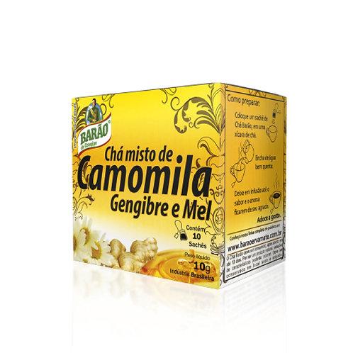 Chá Barão Camomila/Geng/Mel 10
