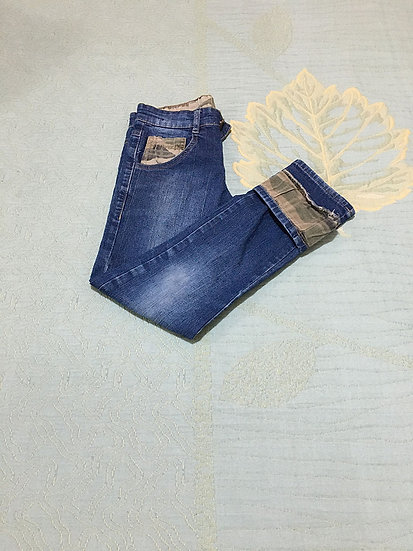 Calça Jeans Clube do Dino - Tam 6