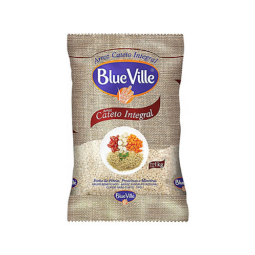 Arroz Blue Ville 1Kg Cateto Integral