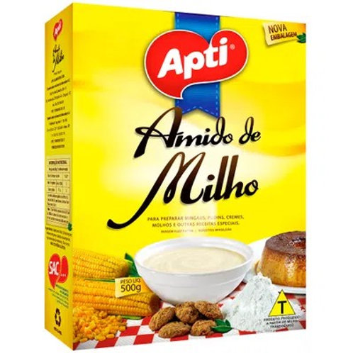 Amido Milho Apti 500g