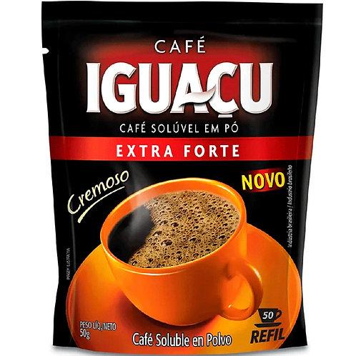 Café Iguaçu Solúvel Sachê 50g Extra Forte