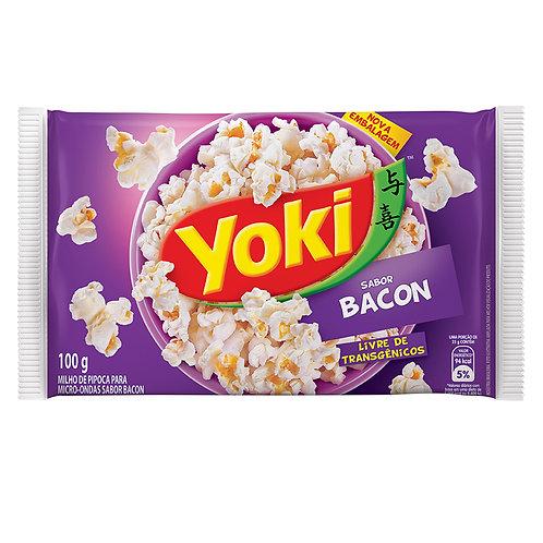 Milho Pipoca Micro Yoki 100g  Bacon