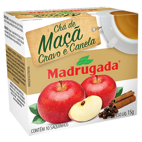 Chá Madrugada Maçã/Cravo/Canela