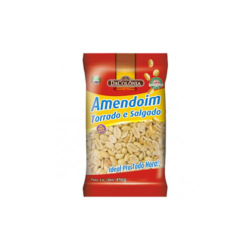 Amendoim Da Colonia 450g