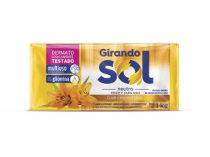 Sabão Barra Girando Sol 5X200g Glicerina