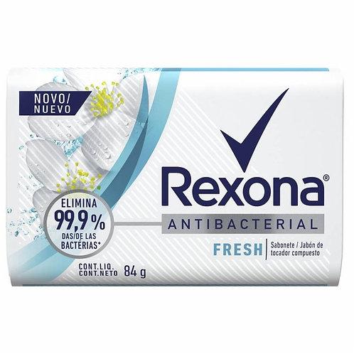 Sabonete Rexona 84g  Antibacteriano Fresh