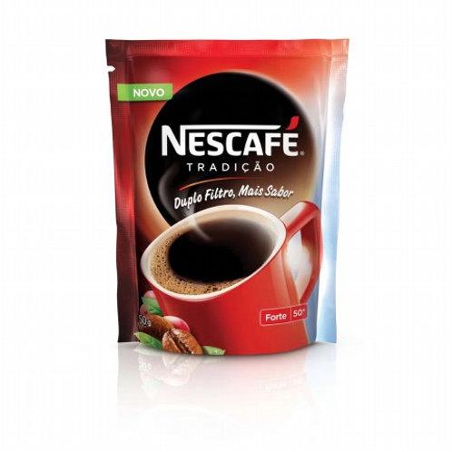Café Nescafé Solúvel 50g Tradição Sachê